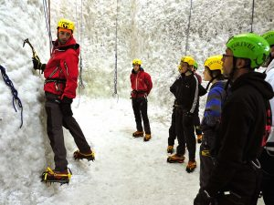 Things to do in Scotland .Ice Climbing in Kinlockleven