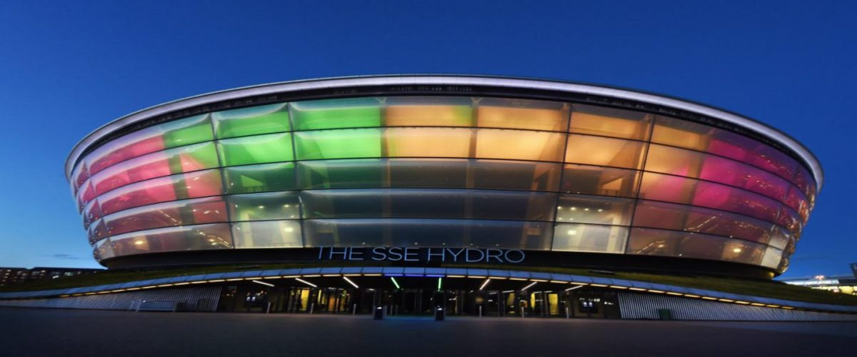 SSE Hydro Getting Here | SSE Hydro background
